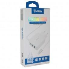 Сетевое зарядное устройство INKAX 3 USB 3.1A + кабель для Micro (CD-50-MICRO)