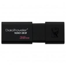 USB Флеш Kingston 32GB 3.0 DT100G3/32GB Black