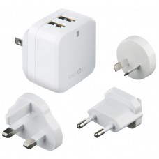 Настенное Зарядное Устройство (DU-TAK-17W-1) 2 USB, 3.4A