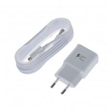 Сетевое зарядное устройство Samsung 2A, microUSB (EP-TA20EWEUGRU) White