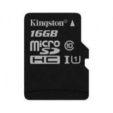 Карта памяти Kingston SDC10G2/16GB, microSD 16GB Class 10 U1