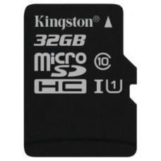 Карта памяти Kingston SDC10G2/32GB, microSD 32GB Class 10