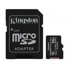 Карта памяти Kingston SDCS2/64GB, microSD 64GB class 10 (UHS-1)